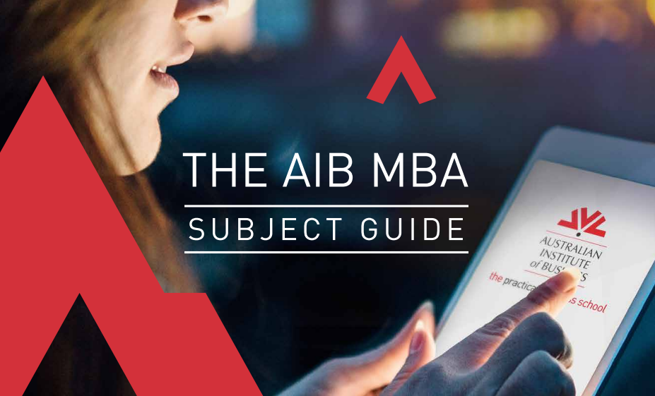 AIB MBA Subject Guide
