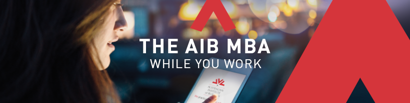 The AIB MBA while you work