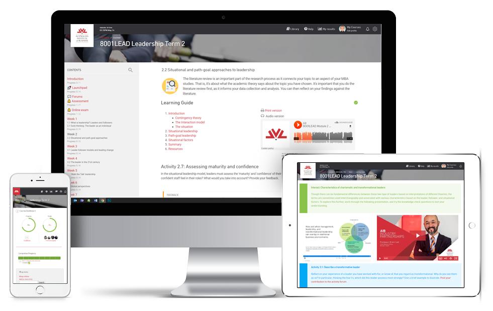 Online learning - Australian Institute of Business