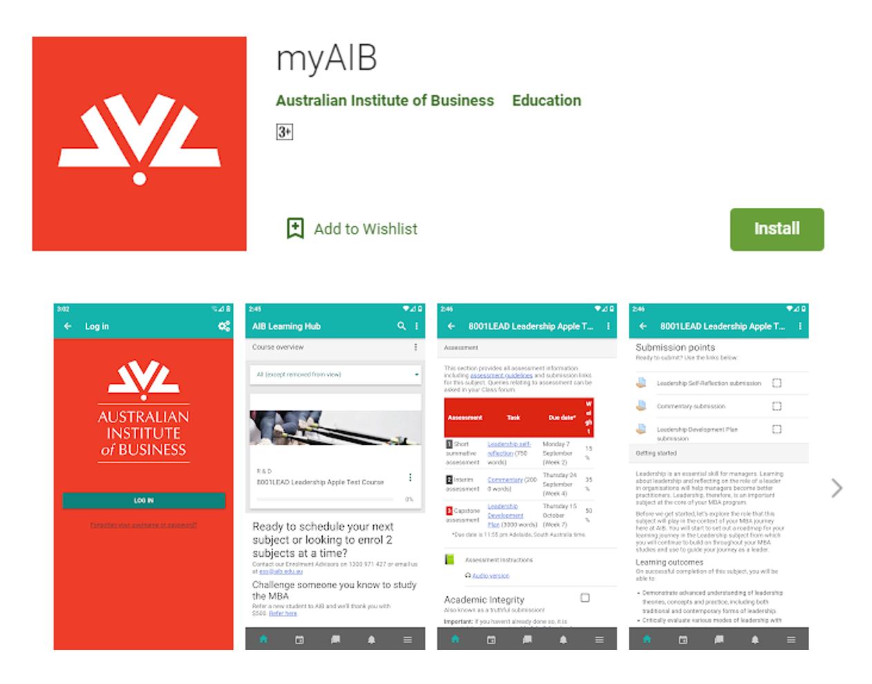 myAIB App